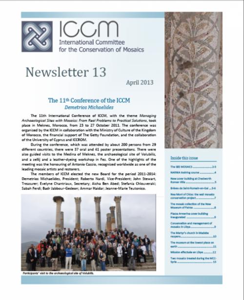 Newsletter No 13