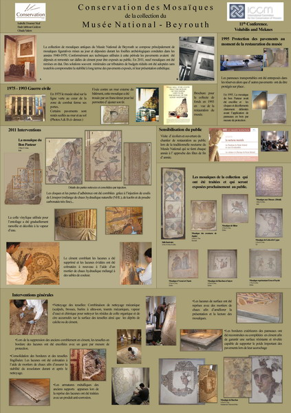Skaf et al._Conservation des mosaiques du Musee National de Beyrouth