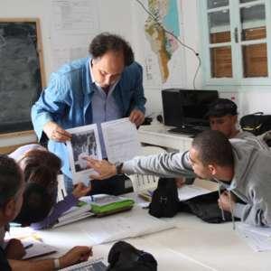 Technician training course lecture