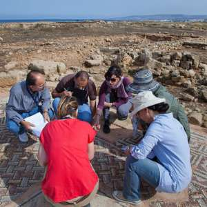 Site exercise at Paphos, Cyprus