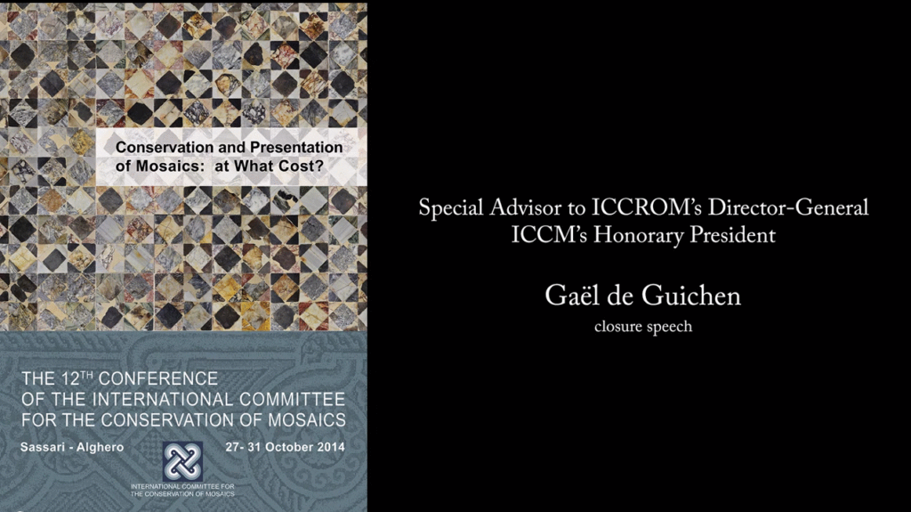12th ICCM – Closing Remarks by Gaël de Guichen