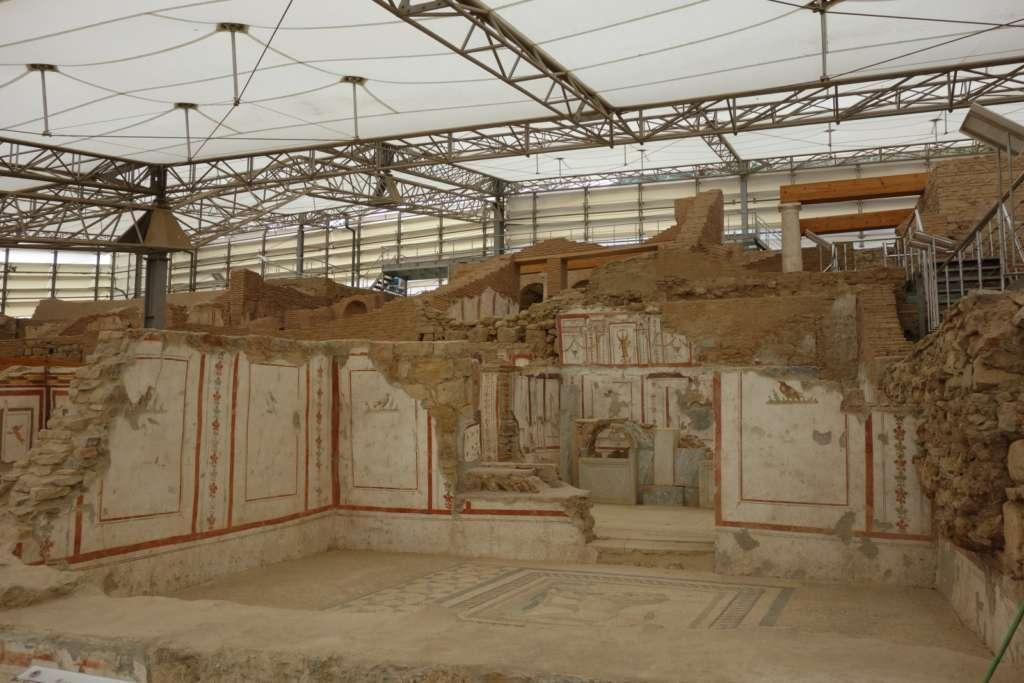 Mosaic Conservation Course MCC 2016 in Ephesus