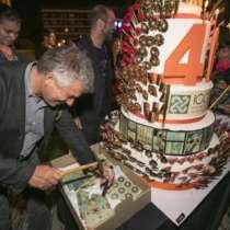 ICCM Birthday cake