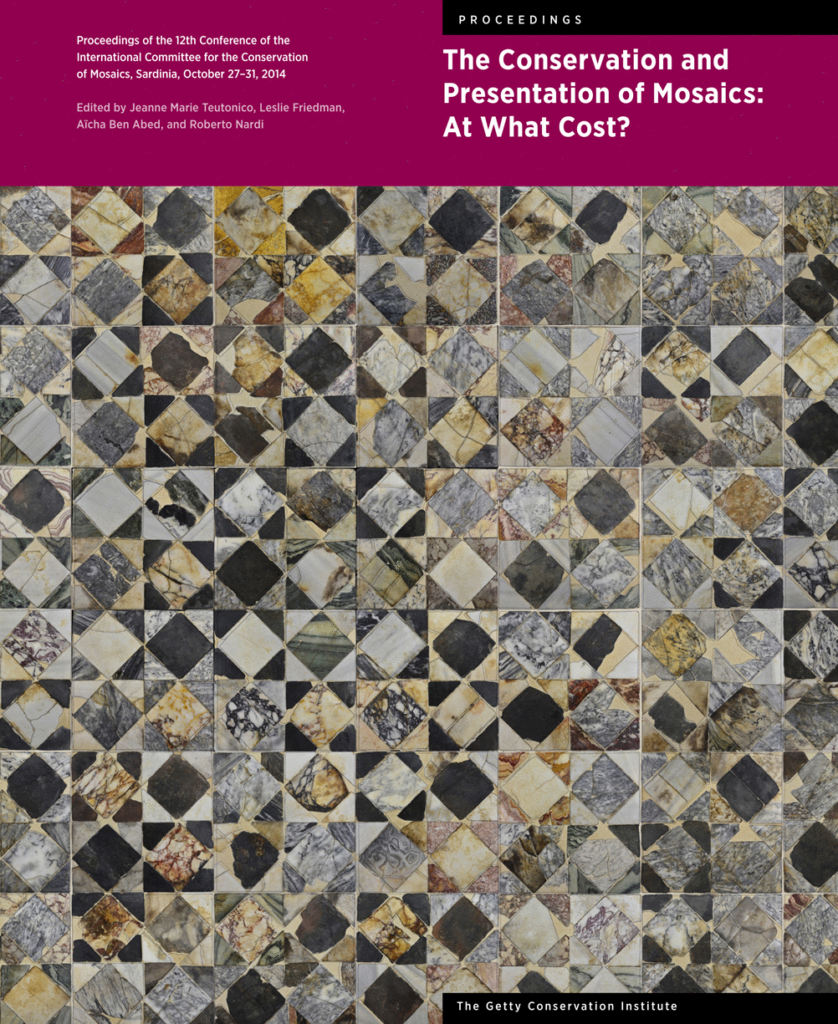 The Getty announces the publication of the Proceedings of the 12th ICCM Conference